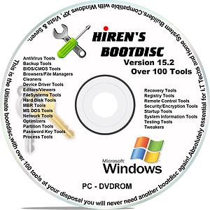 hirens boot dvd 15.2 restored edition v3