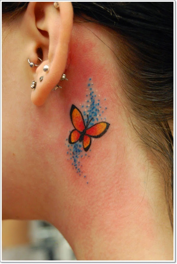 Butterfly Tattoos By Stuntmanmike