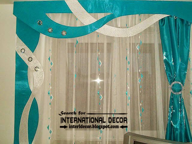 best modern curtain designs 2015 curtain ideas colors, turquoise curtains