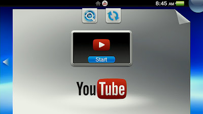 YouTube For PS Vita