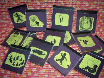 História de Joaquim em capas de CD