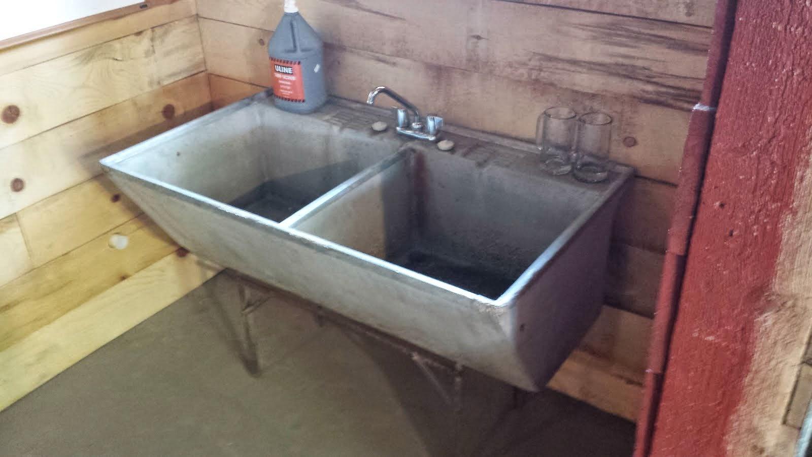 Concrete Sink : RBB Blog: Concrete sink