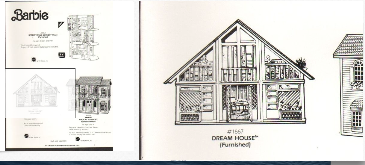 The One and Only Mattel Barbie 1978 A Frame DreamHouse Website For ...