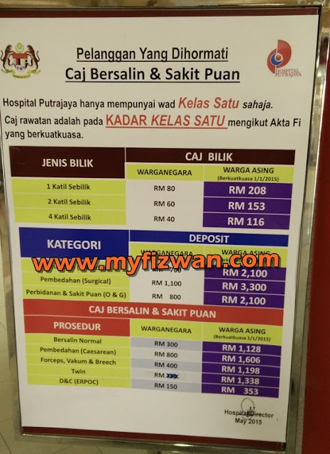 Because I M Not Perfect Pengalaman Bersalin Di Hospital Putrajaya