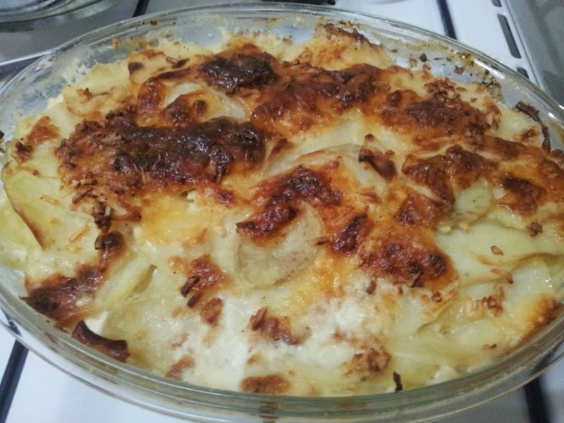 "גראטן תפו""א גורדון רמזי - Gordon Ramsay potato gratin"