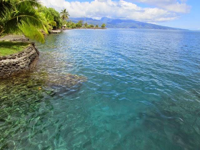 Lagon de Tahiti à Pueu