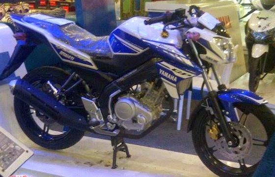 Yamaha new vixion lightning 2014 Livery GP 2014 (Biru)