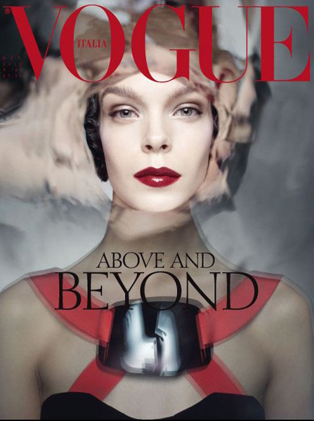 Vogue Italia october 2012 cover