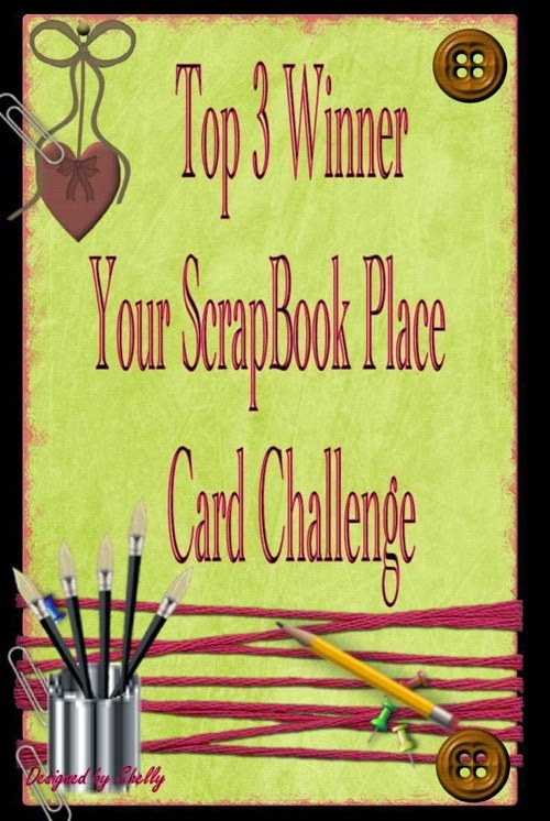 Top 3 at Your Scrapbook Place