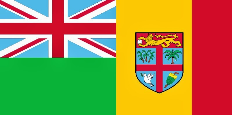 The Voice of Vexillology Flags  Heraldry The FijiMali Antipod Flag