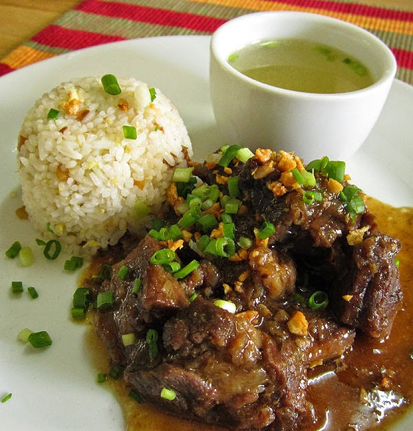 Original Beef Pares Recipe