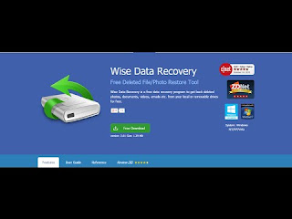 Wise Data Recovery 3.72 Crack With Serial Key Full version Free Download
