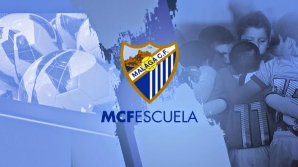 MALAGA CLUB DE FÚTBOL. ESCUELA.