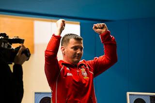 Andrija Zlatic (SRB) - Pistola 50m - Copa do Mundo ISSF de Carabina e Pistola 2013 - Tiro Esportivo