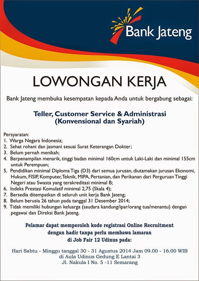 Portal Info Lowongan Kerja Di Semarang Jawa Tengah Terbaru