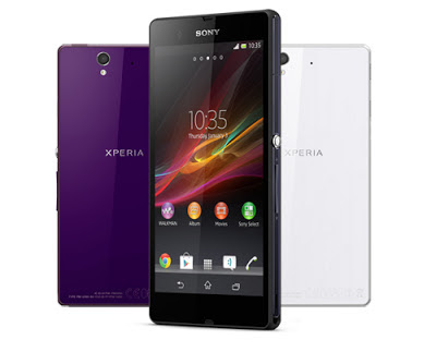 Sony Xperia Z and Xpeira ZL