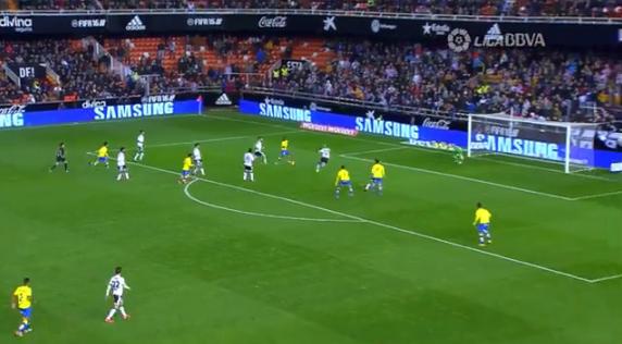 1-1 gol Jonathan Viera Valencia CF - UD Las Palmas