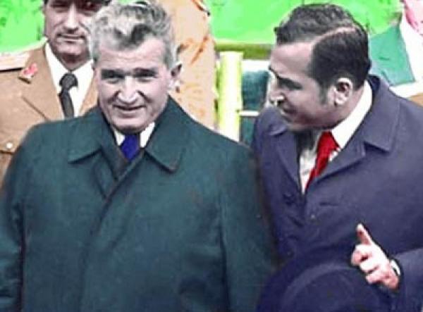 Ceausescu, executat de Iliescu, la o