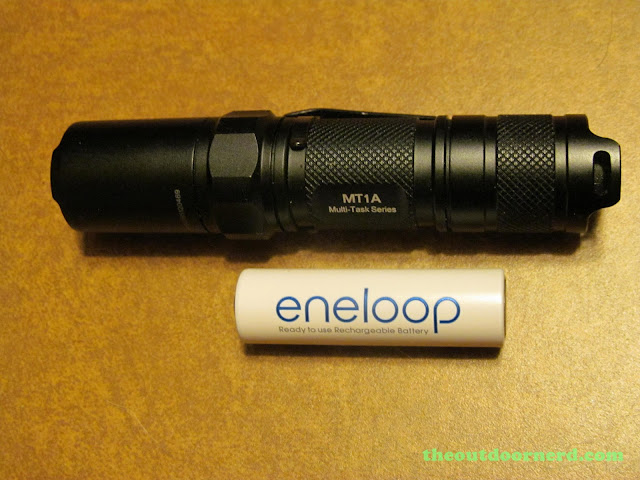 Nitecore MT1A AA Flashlight: With Eneloop 2nd Gen.