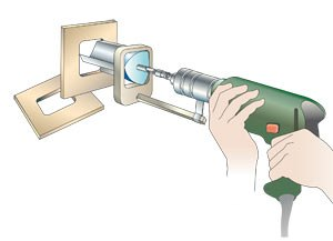 Недвижимость: Каким сверлом можно просверлить квадратное отверстие?