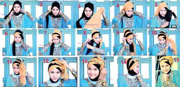 Fashion Jilbab Modern Trend Fashion Hijab Modern