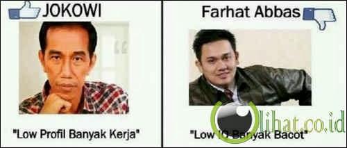 Dibandingkan Dengan Jokowi
