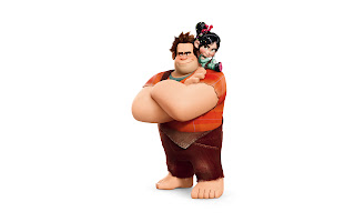 Ralph and Vanellope HD Wallpaper