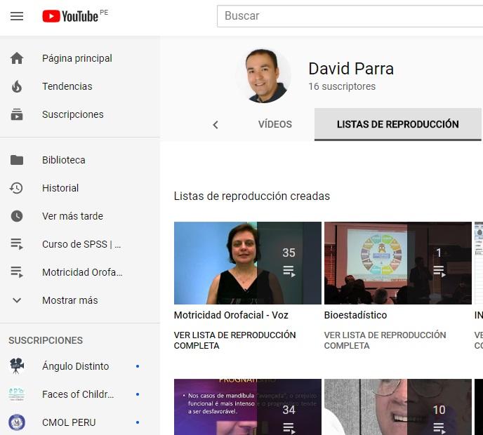 Canal David Parra