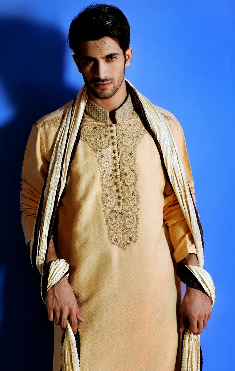 Amir Adnan Eid Summer Kurta Collection-2014