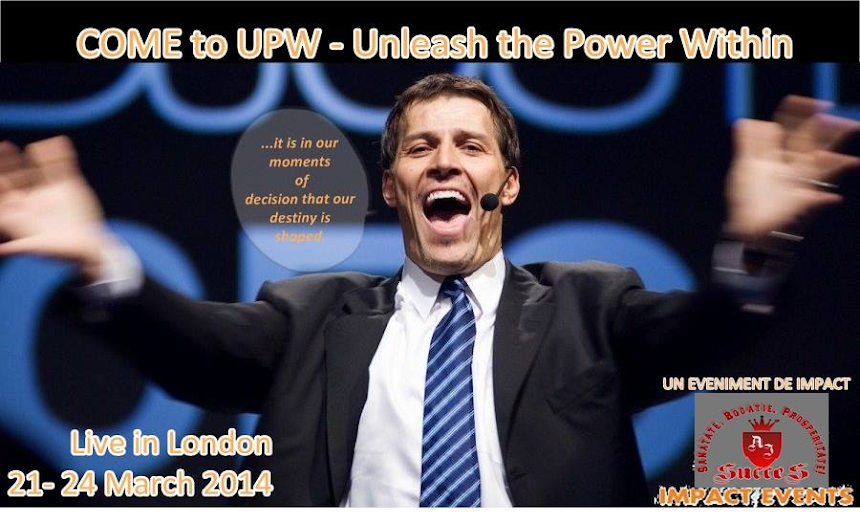 UPW 2014 - Anthony Robbins
