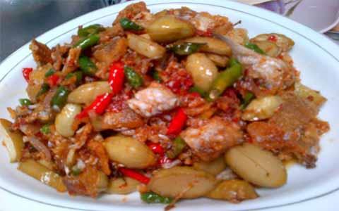 Cara Membuat Resep Ikan Asin Jengkol
