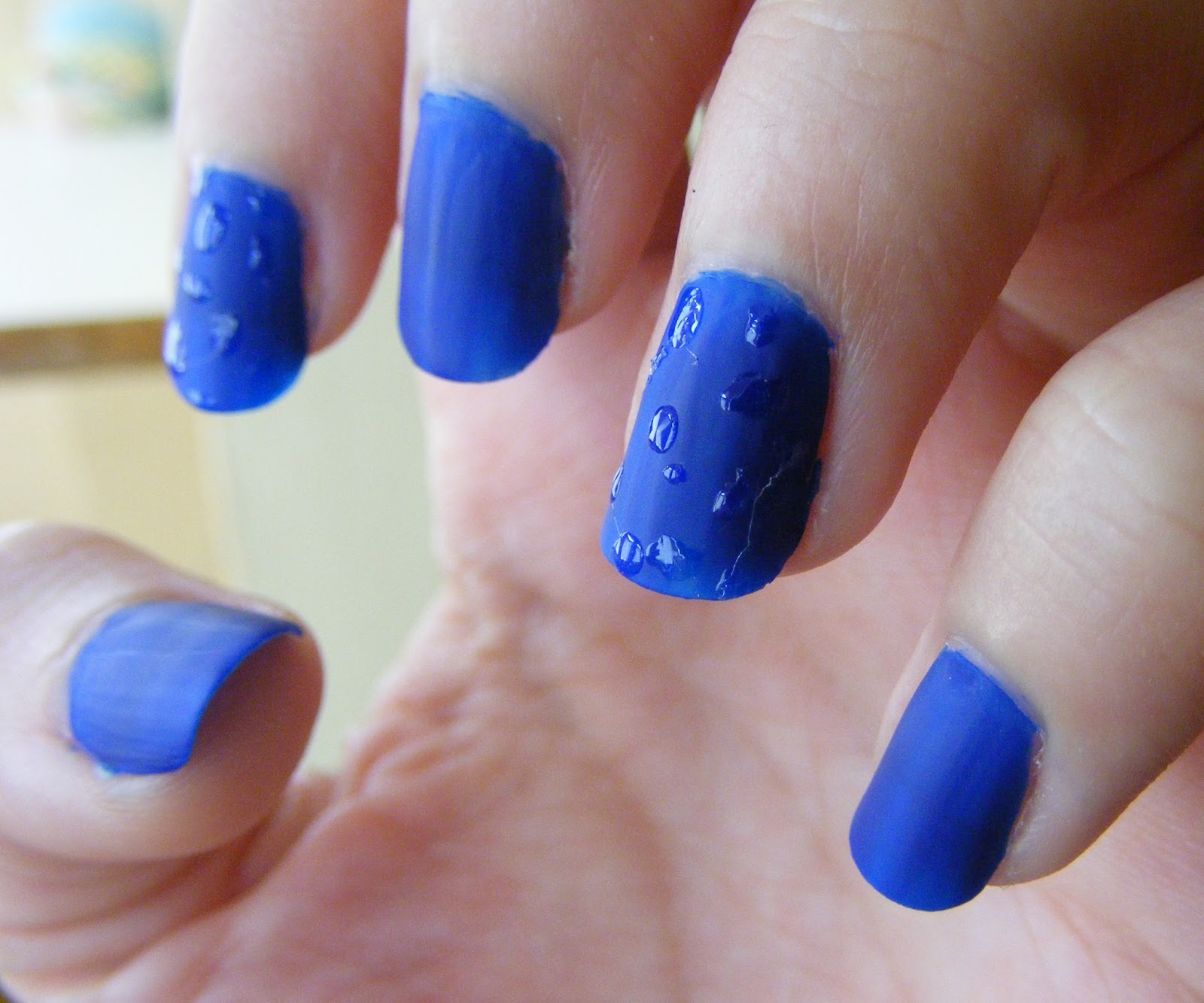 Cosette\'s Beauty Pantry: Nails Of The Day (NOTD): Water drops