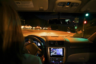 night driving, safe driving at night