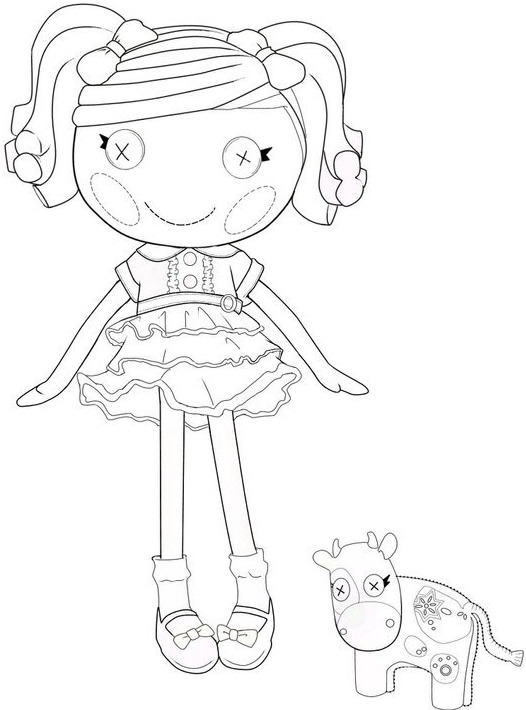 lalaloopsy coloring pages baby ducks - photo#21