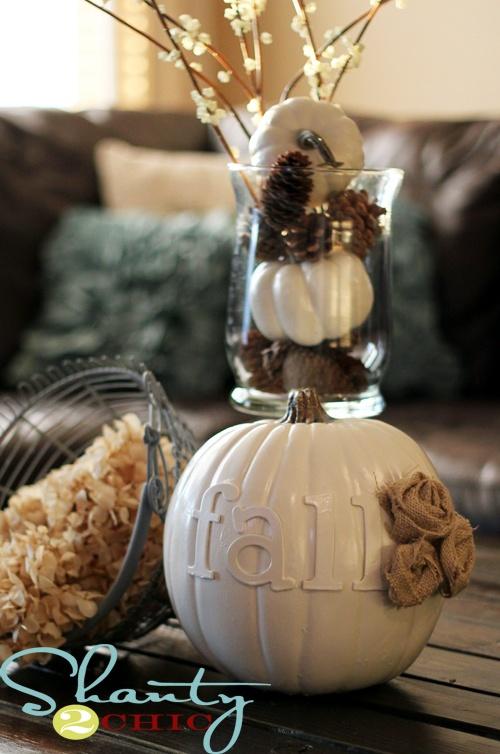 11 lovely white pumpkin decor ideas craft o maniac for White pumpkin designs