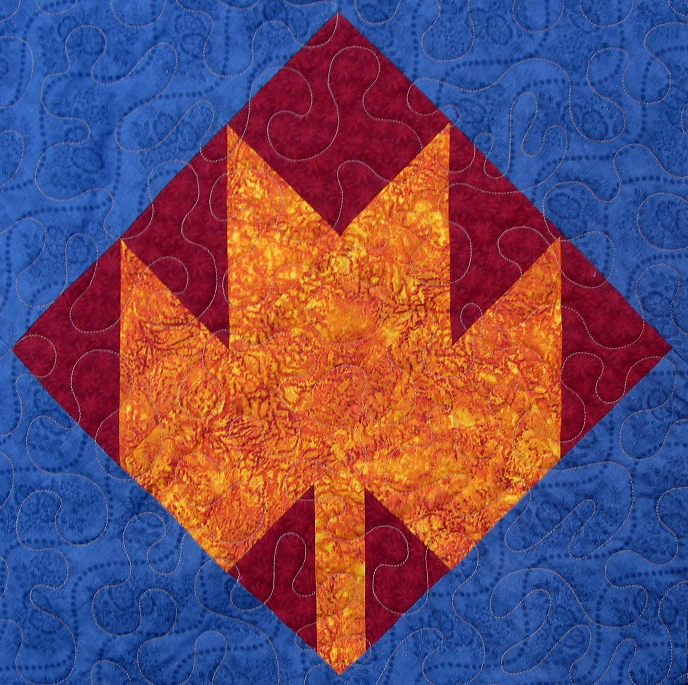 Quilt Pattern For Maple Leaf : Starwood Quilter: Maple Leaf Quilt Block and Tea with Anne (with an e)