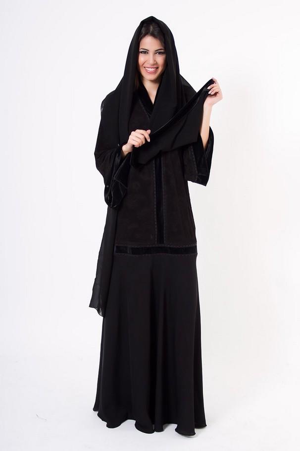 Dubai Abaya Collection 2013 Emirati Abaya Hijab Fashion 2013 2014