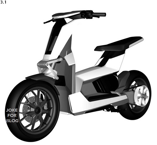 Audi Scooter Concept Leaked