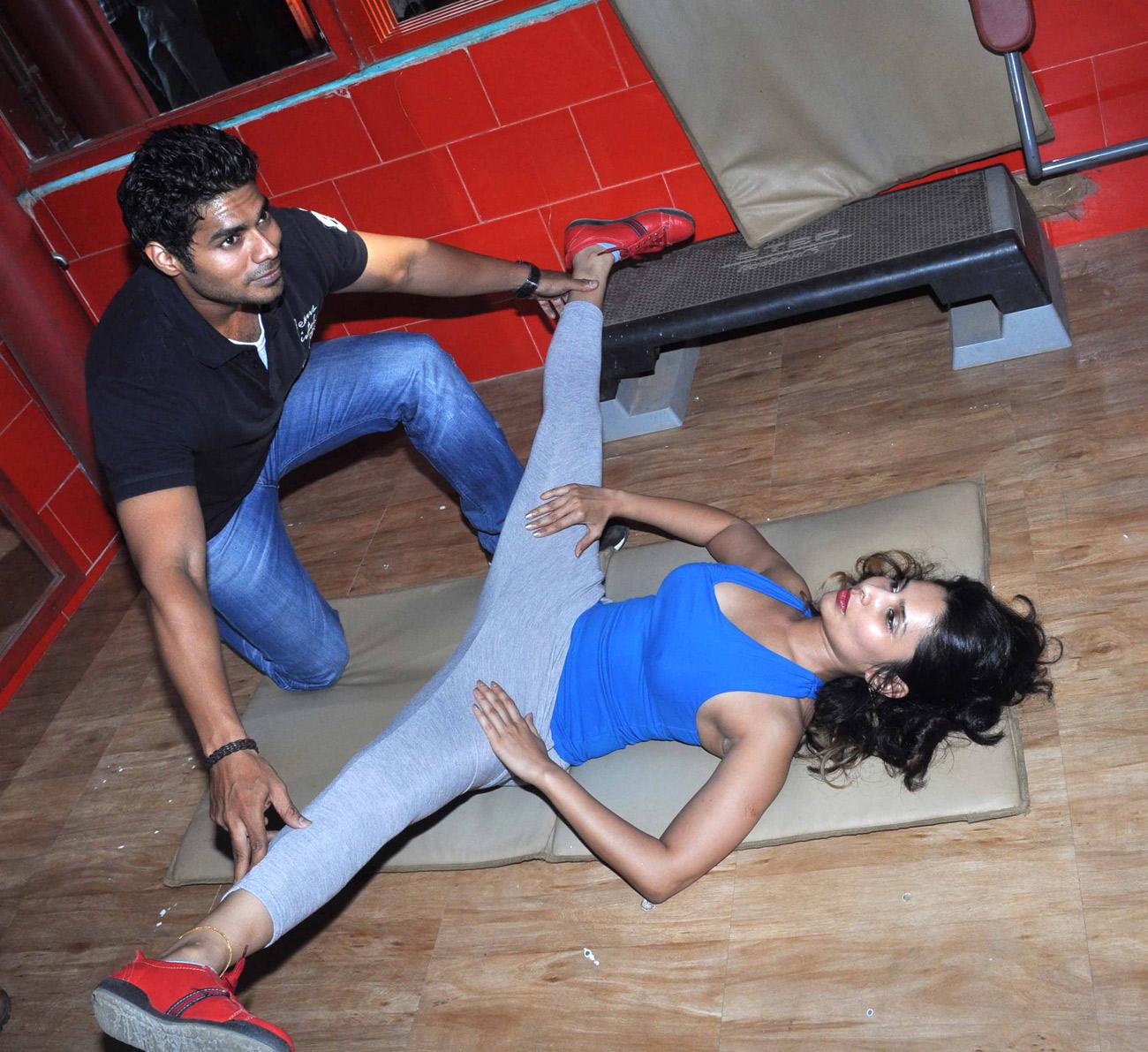 Rashaana Shah Latest Hot Gym Photo's