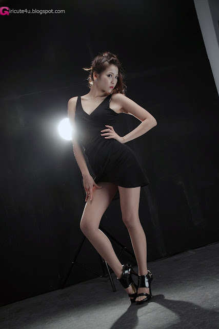 2 Wow - Lee Eun Hye in Black-very cute asian girl-girlcute4u.blogspot.com