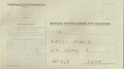 Equitalia: inesistente la notifica per posta di cartelle esattoriali.