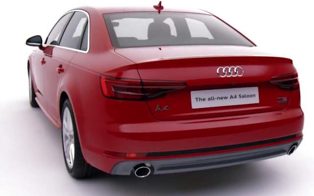 Novo Audi A4 2016 S-Line