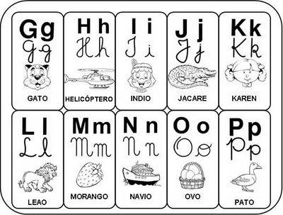 Alfabeto Para Imprimir  Letras Alfabeto Para Imprimir  Alfabeto
