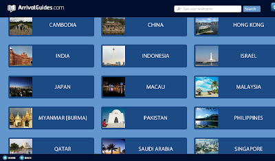 Arrival Guides to Go Travel Guide App Review Intel Asia