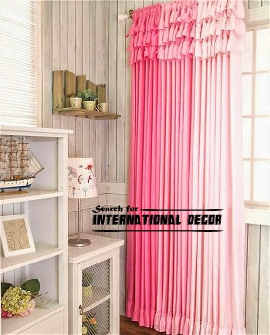 pink tones girls curtains, girls bedroom curtains