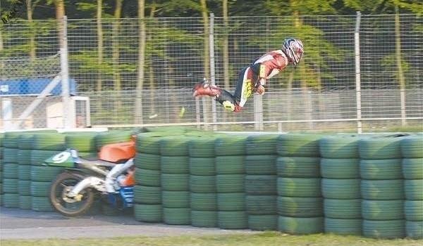 Accidente con Moto GP