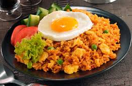 Contoh procedure text how to make fried rice (nasi goreng) beserta artinya