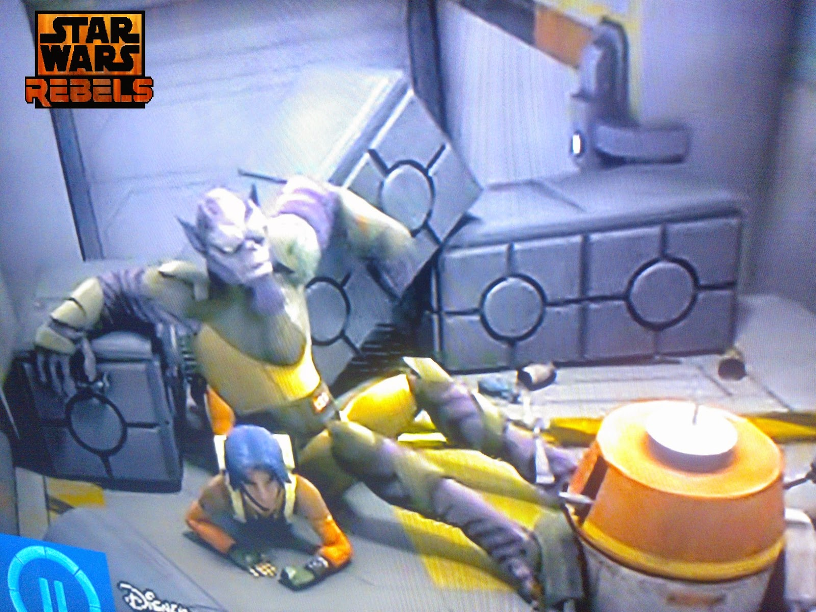 Star Wars Rebels - Storage boxs