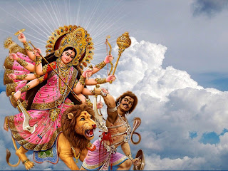 Navaratri Greetings Wallpapers