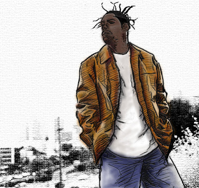 coolio illustrations - illustration hip hop